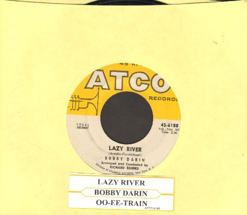 Darin, Bobby - Lazy River/Oo-Ee-Train (with juke box label) - EX8/ - 45 rpm Records