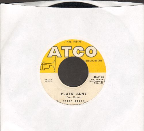 Darin, Bobby - Plain Jane/While I'm Gone - VG7/ - 45 rpm Records