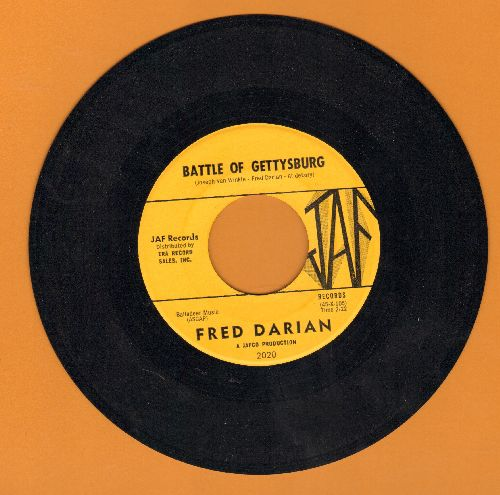 Darian, Fred - Battle Of Gettysburg/Legend Of The Ghost Stage - NM9/ - 45 rpm Records