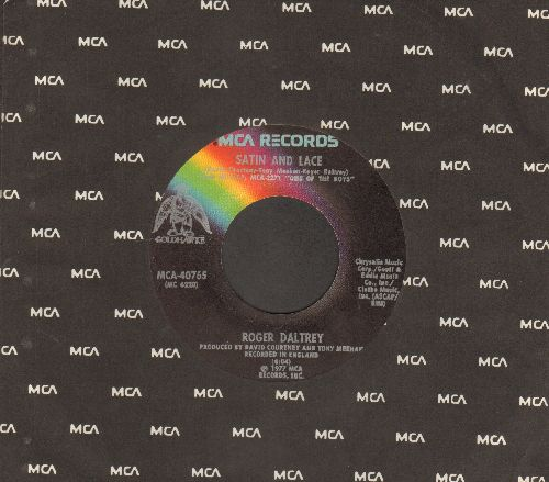 Daltrey, Roger - Satin And Lace/Say It Ain't So, Joe (with MCA company sleeve) - EX8/ - 45 rpm Records