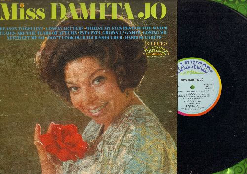 Damita Jo - Miss Damita Jo: Harbor Lights, Losing You, Pata Pata, Never Let Me Go (Vinyl STEREO LP record) - NM9/EX8 - LP Records