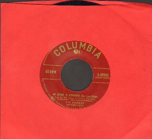 Damone, Vic - An Affair To Remember (Our Love Affair)/In The Eyes Of The World - NM9/ - 45 rpm Records