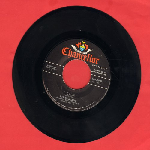 Damiano, Joe - I Cried/Sittin' On A Shelf - EX8/ - 45 rpm Records