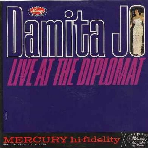 Damita Jo - Live At The Diplomat: Hey Look Me Over, The Masquerade Is Over, Twist With Me Henry, Sweet Georgia Brown, Bill Bailey, I'll Save The Last Dance For You (Vinyl MONO LP record) - NM9/NM9 - LP Records