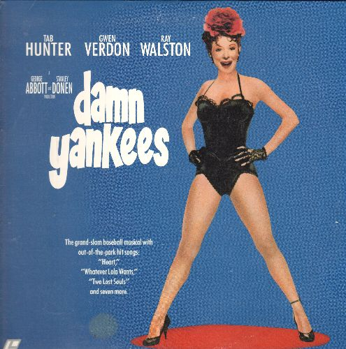 Damn Yankees - Damn Yankees - LASER DISC version of the Musical Classic starring Gwen Verdon (This is a LASER DISC, NOT any other kind of media!) - NM9/EX8 - LaserDiscs