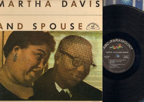 Davis, Martha & Spouse - Martha Davis & Spouse: Two Sleepy People, Umbrella Man, Keepin' Out Of Mischief Now (Vinyl MONO LP  record, 1957 first pressing) - EX8/EX8 - LP Records