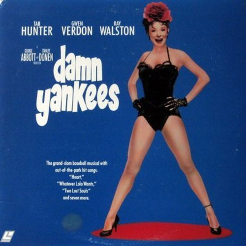 Damn Yankees - Damn Yankees - LASERDISC version of the Classic Musical starring Gwen Verdon and Tab Hunter  (This is a LASERDISC, NOT ANY OTHER KIND OF MEDIA!) - NM9/EX8 - LaserDiscs