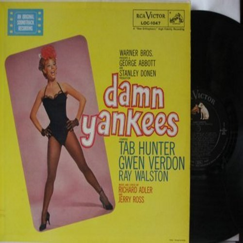 Hunter, Tab, Gwen Verdon, Ray Walston - Damn Yankees - Original Motion Picture Sound Track (Vinyl MONO LP record) - NM9/VG7 - LP Records