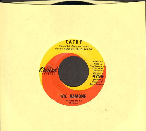 Damone, Vic - Cathy/Vieni, Vieni - EX8/ - 45 rpm Records