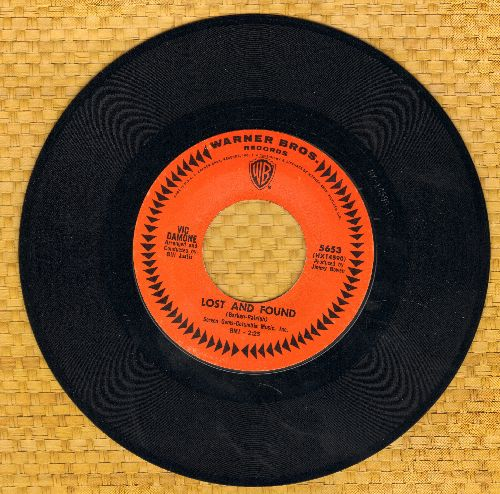 Damone, Vic - Lost And Found/Turn Around (MINT condition) - M10/ - 45 rpm Records