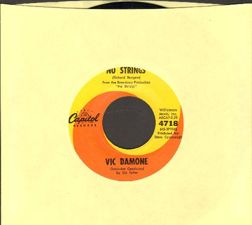 Damone, Vic - No Strings/Once Upon A Time - NM9/ - 45 rpm Records