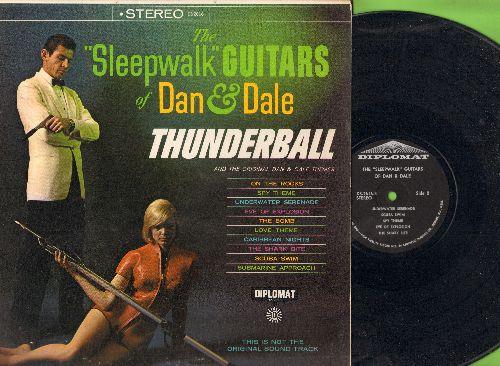 Sleepwalk Guitars Of Dan & Dale - Thunderball: Scuba Swim, Spy Theme, The Bomb, Caribbean Nights (vinyl STEREO LP record) - EX8/EX8 - LP Records