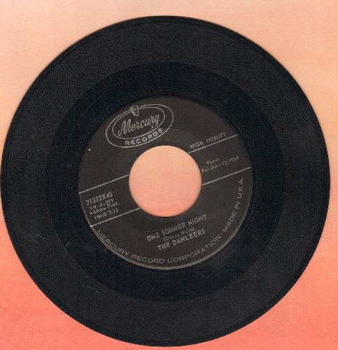 Danleers - One Summer Night/Wheelin' And A-Dealin' - VG7/ - 45 rpm Records