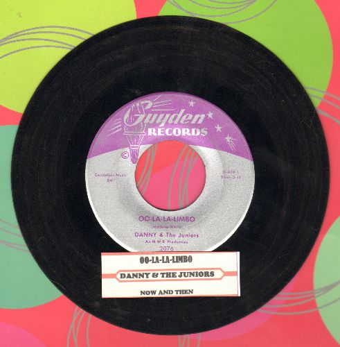 Danny & The Juniors - Oo-La-La Limbo/Now And Then (with juke box label) - VG7/ - 45 rpm Records