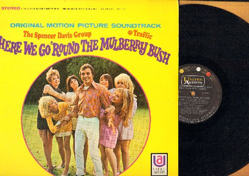 Davis, Spencer Group, Traffic - Here We Go 'Round The Mulberry Bush - Original Motion Picture Soundtrack (Vinyl STEREO LP record) - NM9/EX8 - LP Records
