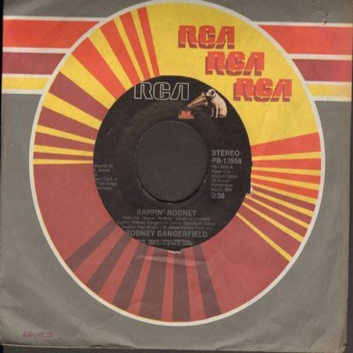 Dangerfield, Rodney - Rappin' Rodney/Funiculi, Funicula - VG7/ - 45 rpm Records