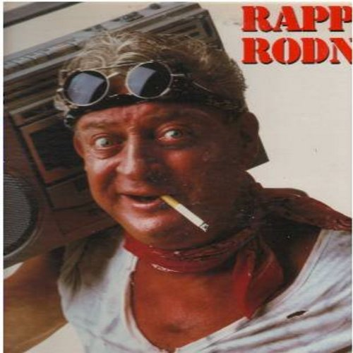 Dangerfield, Rodney - Rappin' Rodney - 12 inch vinyl Maxi Single featuring Extended Comedy Version of famous -Rodney Dangerfield Rap-  - NM9/EX8 - LP Records
