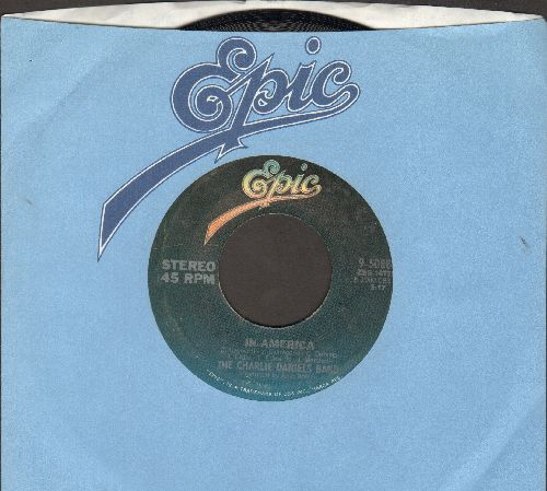 Daniels, Charlie Band - In Amrica/Blue Star (with Epic company sleeve) - NM9/ - 45 rpm Records
