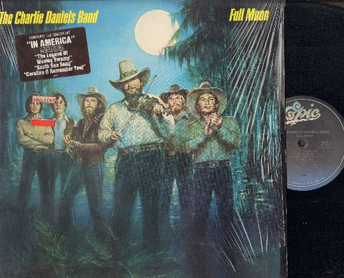Daniels, Charlie Band - Full Moon: The Legend Of Wooley Swamp, Money, In America, Carolina (I Remember You), No Potion For The Pain (Vinyl STEREO LP record) - NM9/EX8 - LP Records