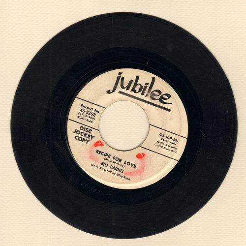 Darnel, Bill - Recipe For Love/Heavenly Father (DJ advance pressing) - VG7/ - 45 rpm Records