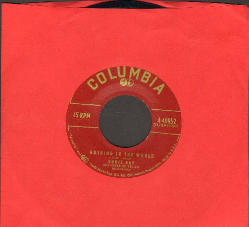 Day, Doris - Nothing In The World/Through The Eyes Of Love - EX8/ - 45 rpm Records