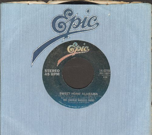 Daniels, Charlie Band - Sweet Home AlabamaFalling In Love For The Night (Crystal Gayle with The Charlie Daniels Band (with Epic company sleeve) - EX8/ - 45 rpm Records