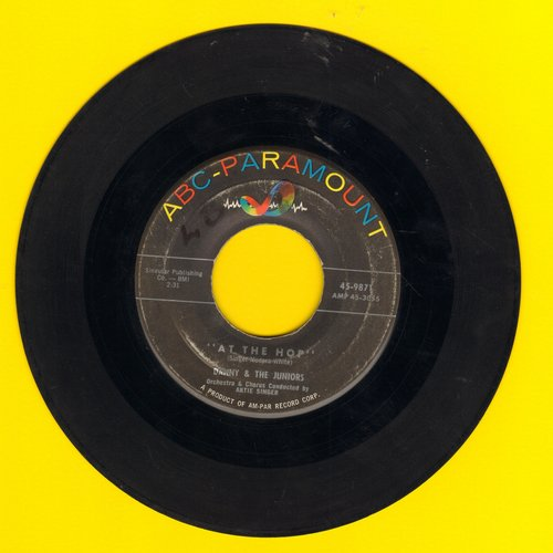 Danny & The Juniors - At The Hop/Sometimes (When I'm All Alone)  - VG6/ - 45 rpm Records