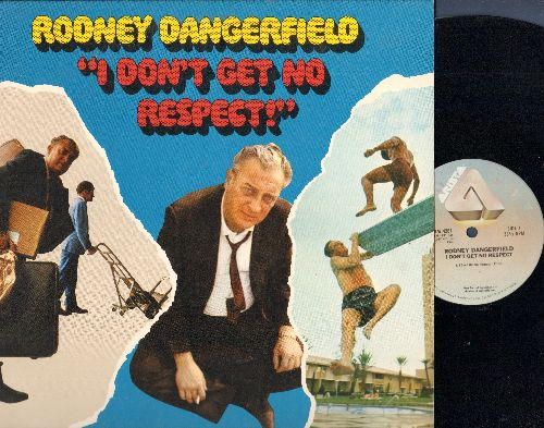 Dangerfield, Rodney - I Don't Get No Respect! - The King of the One Liners at his Best in this 1980 issue Comedy Classic! (Vinyl LP record) - EX8/EX8 - LP Records