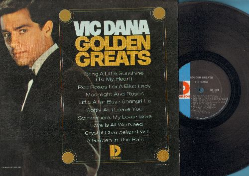 Dana, Vic - Golden Greats: Red Roses For A Blue Lady, Little Altar Boy, Softly As I Leave You, More, Love Is All We Need (Vinyl MONO LP record) - EX8/EX8 - LP Records