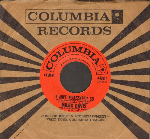 Davis, Miles - It Ain't Necessarily So/All Blues (with Columbia company sleeve) - EX8/ - 45 rpm Records