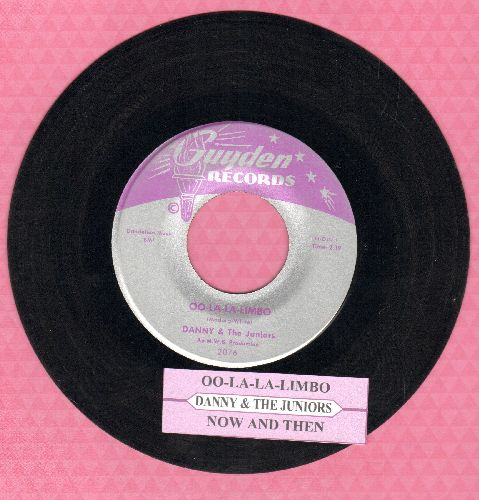 Danny & The Juniors - Oo-La-La Limbo/Now And Then (with juke box label) - EX8/ - 45 rpm Records