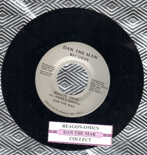 Dan The Man - Teagon-Omics/Collect (RARE Novelty Record with juke box label) - M10/ - 45 rpm Records