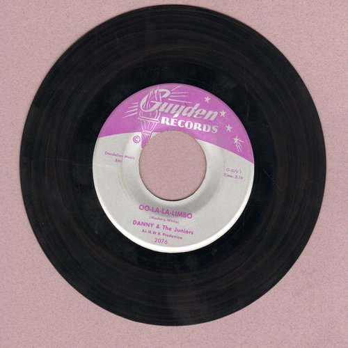 Danny & The Juniors - Oo-La-La Limbo/Now And Then - EX8/ - 45 rpm Records