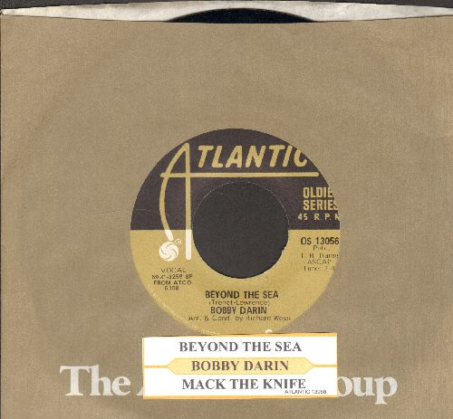 Darin, Bobby - Beyond The Sea (La Mer)/Mack The Knife (double-hit re-issue with juke box label and company sleeve) - NM9/ - 45 rpm Records