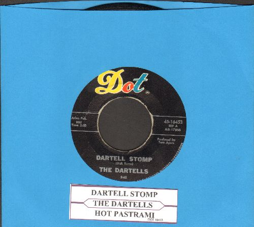 Dartells - Dartell Stomp/Hot Pastrami (with juke box label) - EX8/ - 45 rpm Records