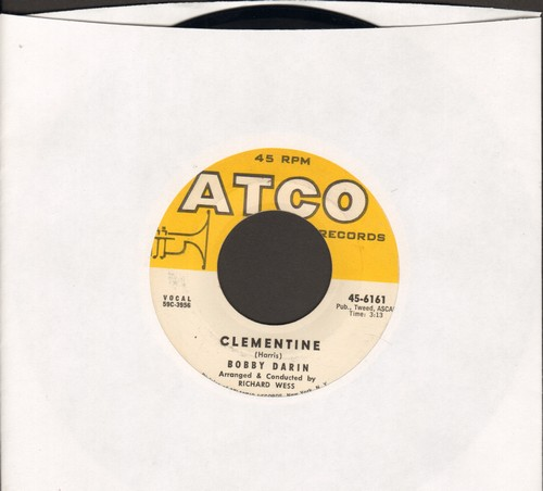 Darin, Bobby - Clementine/Tall Story - EX8/ - 45 rpm Records