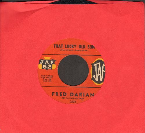 Darian, Fred - That Lucky Old Sun/North To Durango - EX8/ - 45 rpm Records