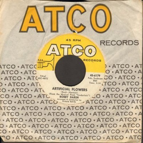 Darin, Bobby - Artificial Flowers/Somebody To Love (with Atco company sleeve) - NM9/ - 45 rpm Records