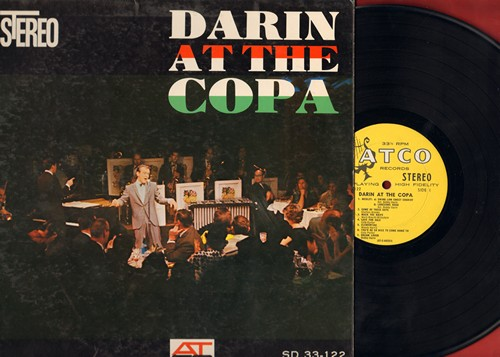 Darin, Bobby - Darin At The Copa: Mack The Knife, Dream Lover, Bill Bailey, I Can't Give You Anything But Love, That's All (Vinyl STEREO LP record, harp label early pressing) - EX8/EX8 - LP Records