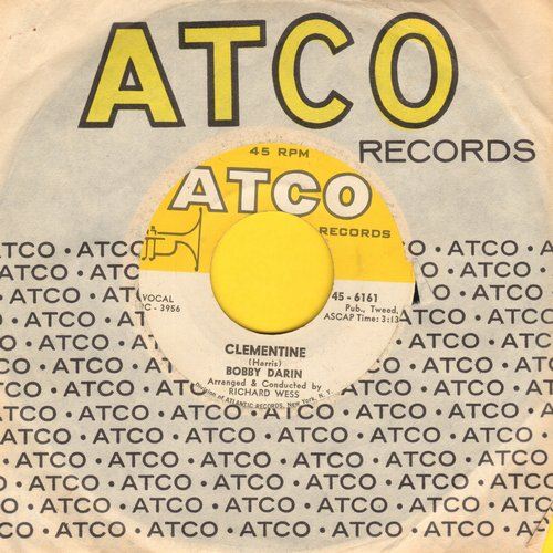 Darin, Bobby - Clementine/Tall Story (with vintage Atco company sleeve) - NM9/ - 45 rpm Records