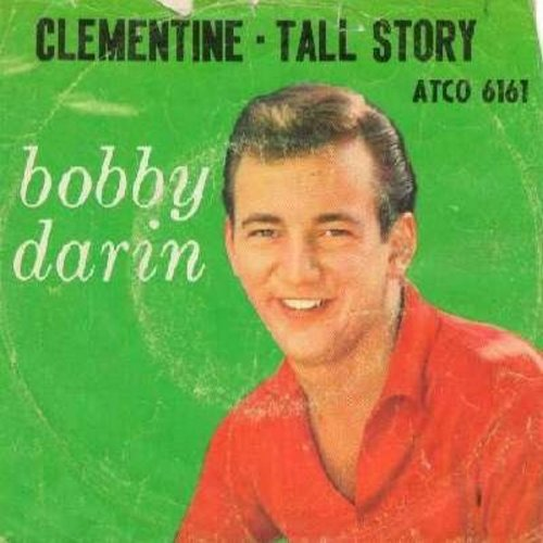 Darin, Bobby - Clementine/Tall Story (with picture sleeve) - EX8/VG6 - 45 rpm Records