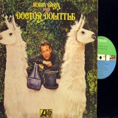 Darin, Bobby - Doctor Dolittle: Talk To The Animals, When I Look In Your Eyes, I Think I Like You, Fabulous Places (Vinyl STEREO LP record) - NM9/EX8 - LP Records