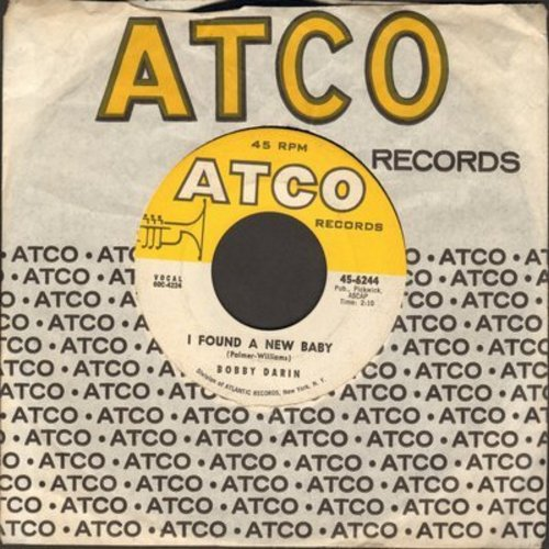 Darin, Bobby - I Found A New Baby/Keep A Walkin' - VG7/ - 45 rpm Records