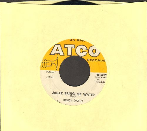 Darin, Bobby - Jailer Bring Me Water/Things   - EX8/ - 45 rpm Records