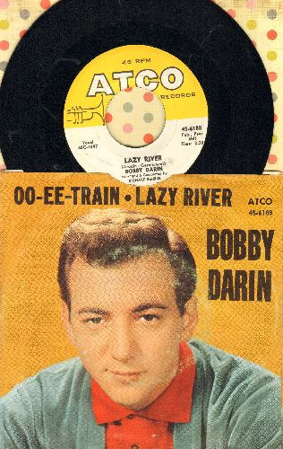 Darin, Bobby - Lazy River/Oo-Ee-Train (with picture sleeve) - NM9/VG7 - 45 rpm Records