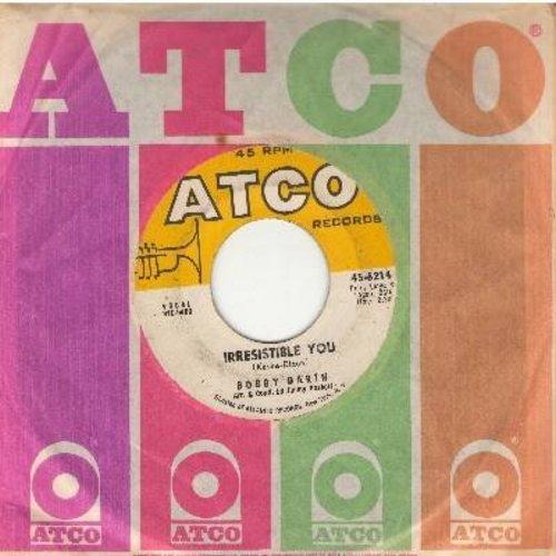 Darin, Bobby - Irresistible You/Multiplication (with Atco company sleeve) - EX8/ - 45 rpm Records