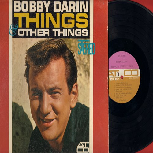 Darin, Bobby - Things: I'll Be There, Beachcomber, Now We're One, Jailer Bring Me Water, Nature Boy, Sorrow Tomorrow (Vinyl STEREO LP record) - EX8/EX8 - LP Records