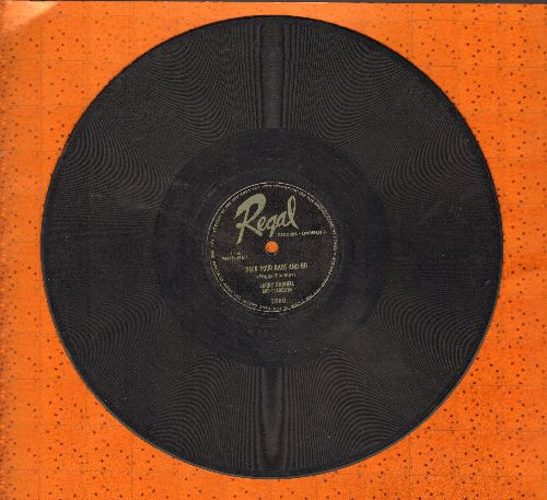 Darnell, Larry & His Orchestra - Pack Your Rags And Go/God Bless The Child - VG7/ - 78 rpm