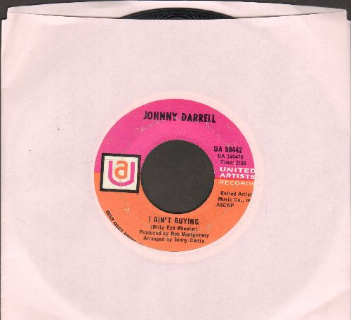 Darrell, Johnny - I Ain't Buying/Little Things - EX8/ - 45 rpm Records