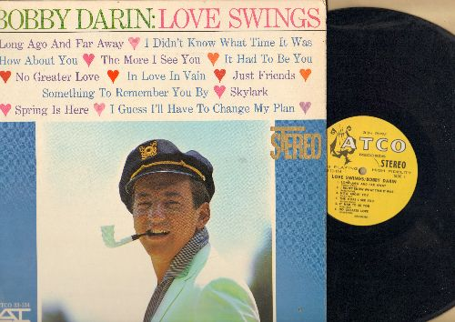Darin, Bobby - Love Swings: The More I See You, It Had To be You, Spring Is Here, I Didn't Know What Time It Was (Vinyl STEREO LP record, RARE harp label early issue) - NM9/EXA8 - LP Records